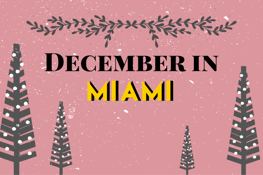 It such a tropical city like Miami, it may be challenging to find holiday spirit.