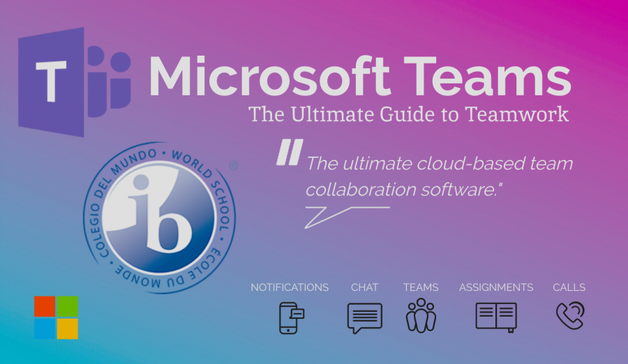 Microsoft Teams is a multi-media communications platform where students in the International Baccalaureate program are able to communicate directly with their counselors and advisors.