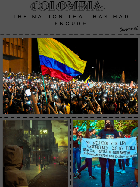 After ongoing political issues , CavsConnect gives insight on the Colombian student body and how the conflict are affecting them and their families.