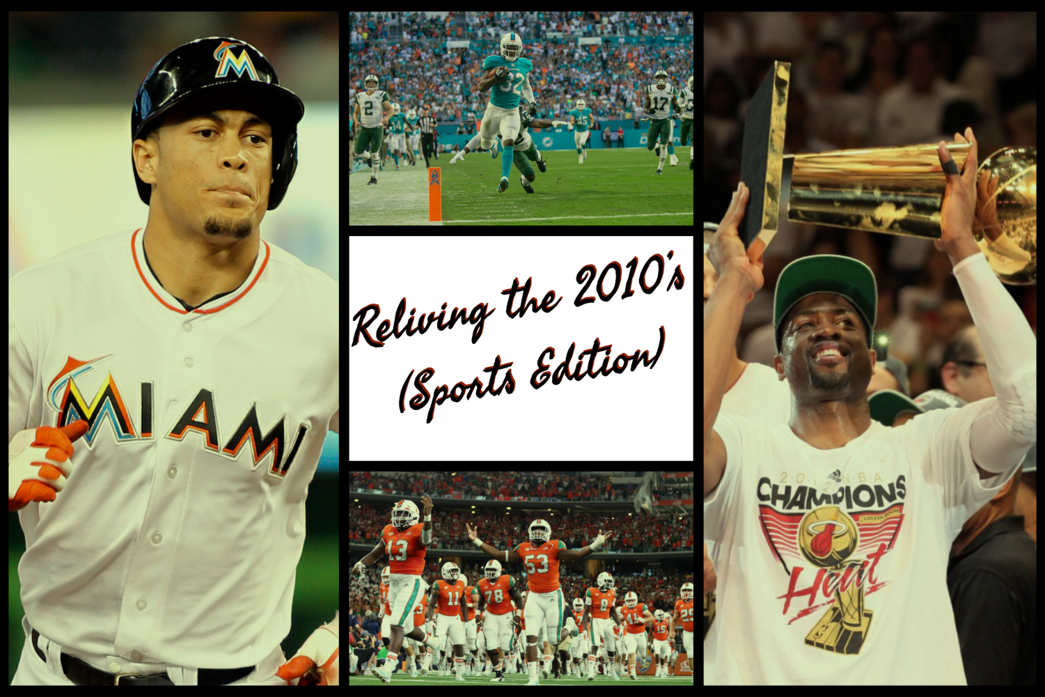 The 2010's were an eventful ten years  for Miami sports. Full of passion, grit, and pure emotion, every sport had something to offer. As we close out 2019, it is time to relive every single one of them.
