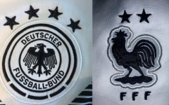 The German and French badges will be a common sight at the 2020 Union of European Football Associations (UEFA) soccer tournament.