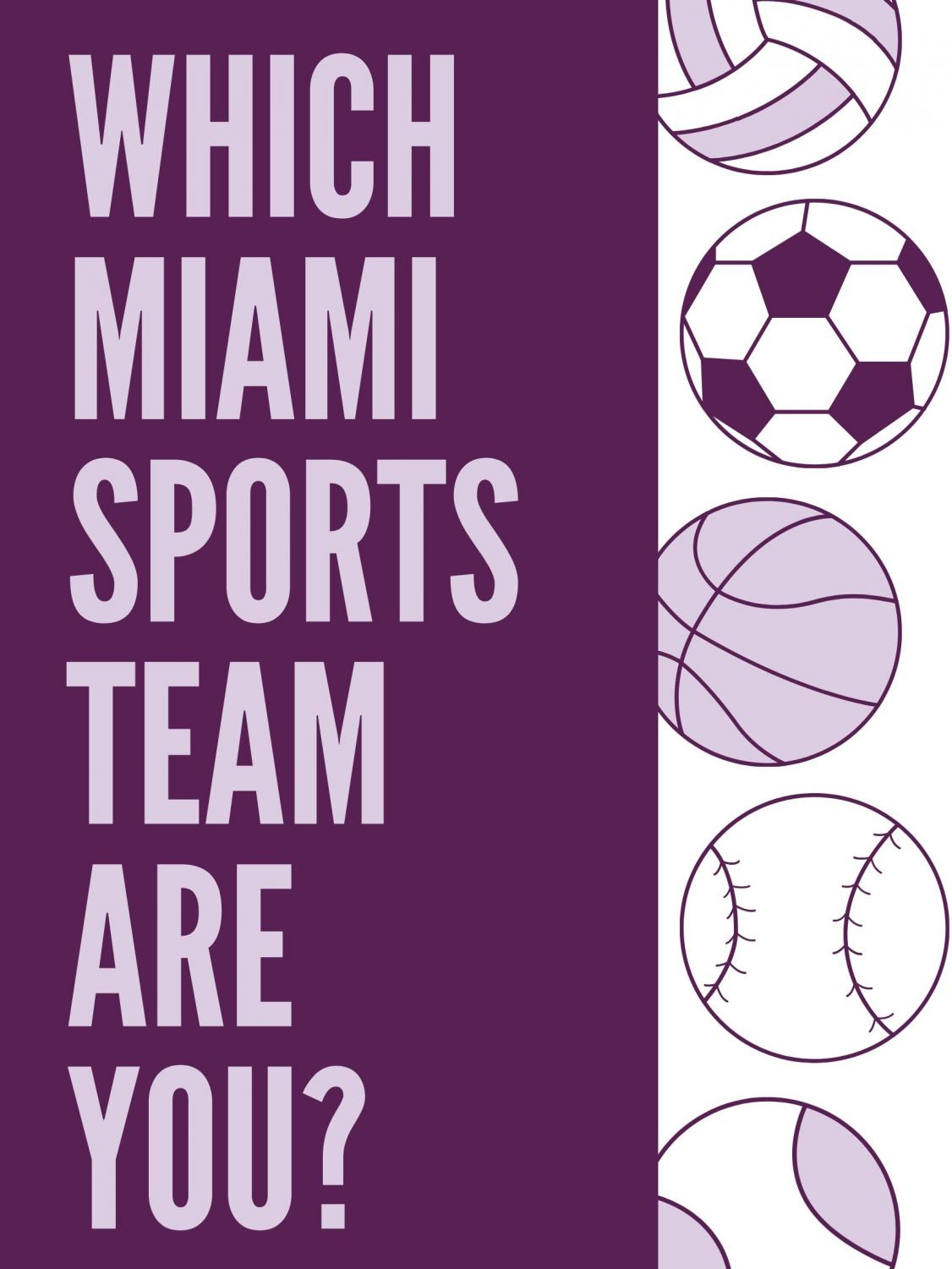 Which Miami sports team do you think you are?