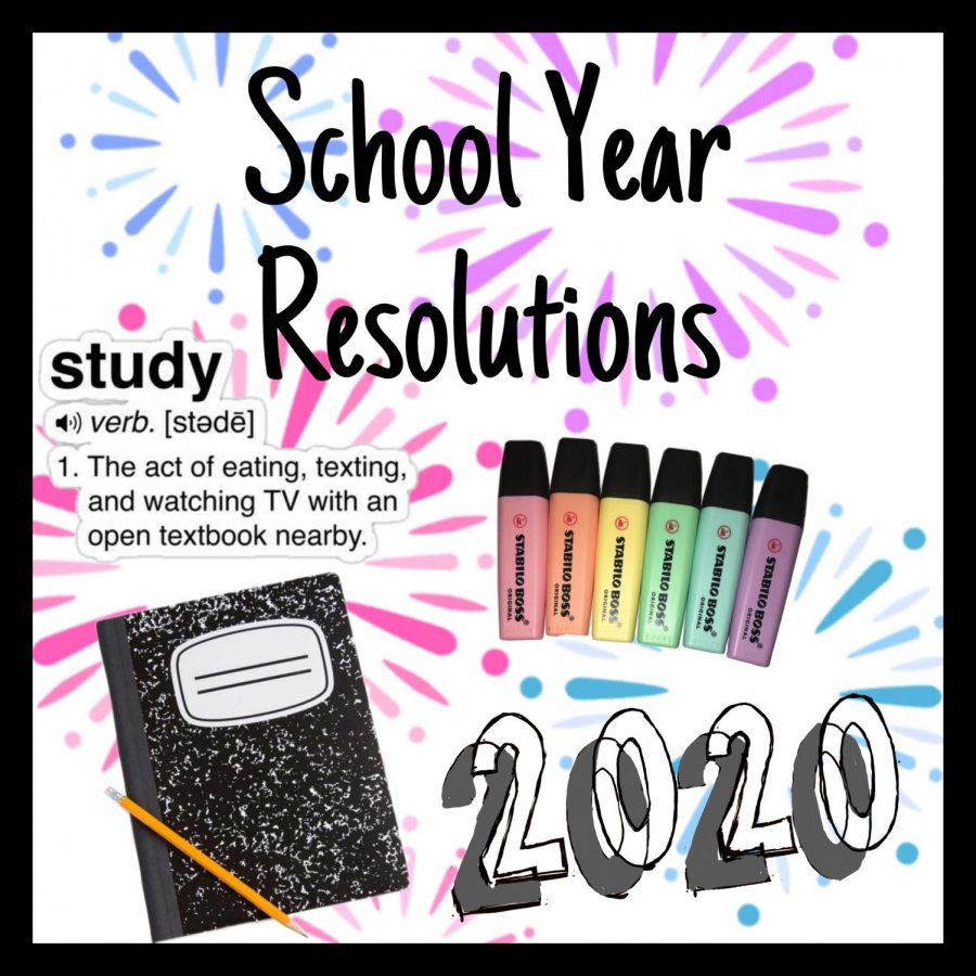 With the beginning of 2020 comes new opportunities to outline resolutions that will improve the rest of the academic year.