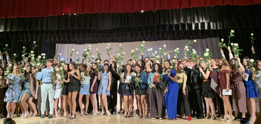 Class of 2021 is Inducted Into the IB Program at Pinning Ceremony