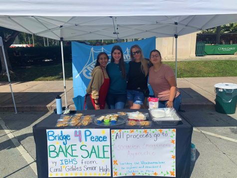 IBHS Fundraisers for This Year's Bridge For Peace Event
