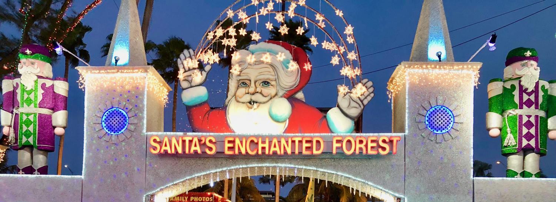 The annual Christmas-themed park,
