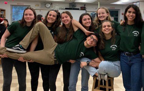 The Kazoo Krew showing their school spirit their own way