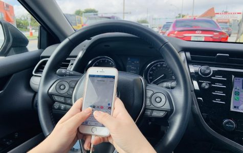 Starting on January 1, texting while driving became illegal in Florida, a law passed by the Florida Legislature.