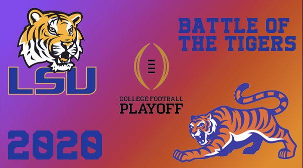 The+College+Football+National+Championship+game+was+an+epic+battle+between+the+Louisiana+State+University+Tigers+and+the+Clemson+University+Tigers%2C+where+players+showcased+their+competitive+spirits+and+readiness+for+the+National+Football+League.
