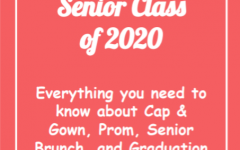 """Class of 2020 """"End of Year Events"""" Assembly: Critical Information"""