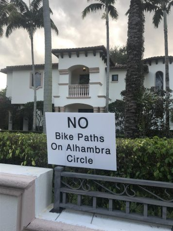 The proposals of having bike paths in Coral Gables has stirred controversy within the local community, upsetting several Coral Gables residents.