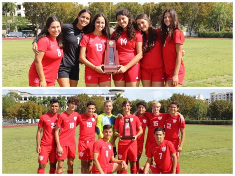 One Sport, Two District Championships: Cavalier and Lady Cavalier Soccer