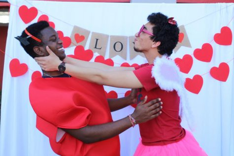 In honor of Valentine's Day, Cavaliers put on accessories and took pictures with their significant other. Students had a great time expressing their love and making unforgettable high school memories.