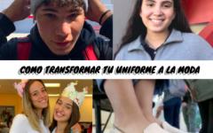 Como transformar tu uniforme a la moda