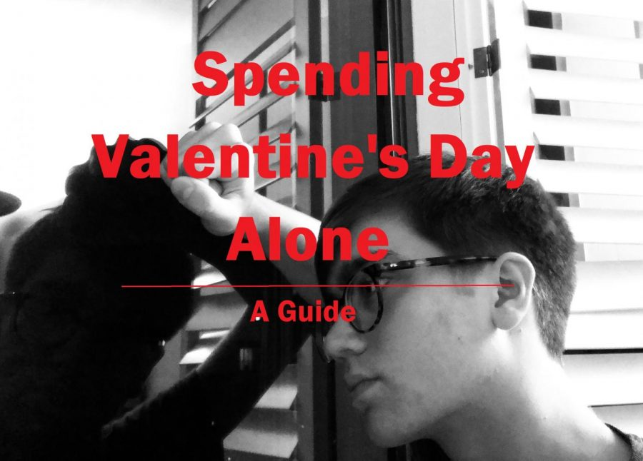 There is nothing like the color red paired with a black and white photo to easily identify a Valentine's Day related piece of media.