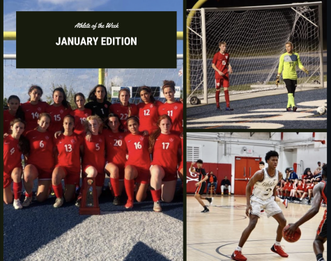 Athletes of the Month: January Edition