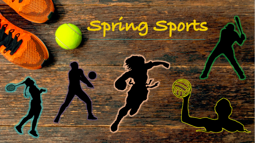 The third and final sports season during the scholastic year sees badminton, baseball, boys' volleyball, softball, tennis, track & field, water polo and girls' flag football players spring into action.