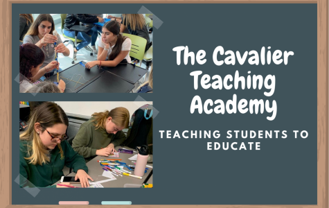 Through the school year, The Cavalier Teaching Academy will teach it's students about time-management, analytical and problem solving skills, as well as leadership skills.