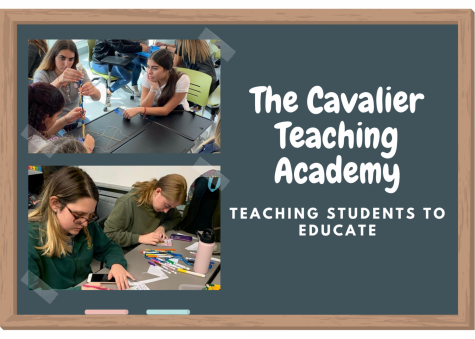 Through the school year, The Cavalier Teaching Academy will teach it