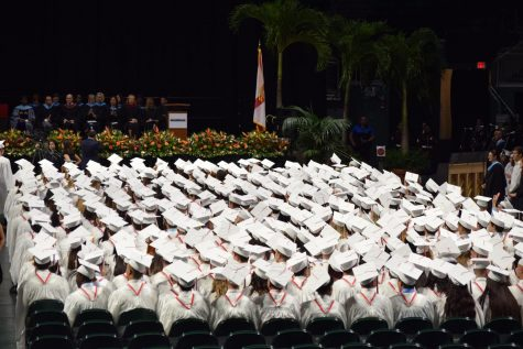 in 2019, the graduating class of Cavalier seniors celebrated their graduation ceremony at the Watsco Center in the University of Miami, but the Class of 2020 may not be able to celebrate in the same way due to the events that have developed surrounding the Coronavirus pandemic.