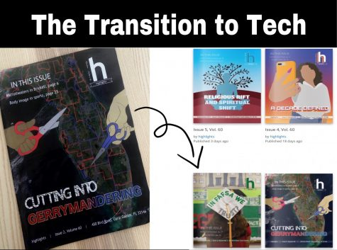 Gables publication such as Highlights and the Cavaleon are adapting to the changes COVID-19 has brought by turning to technology to produce writing.