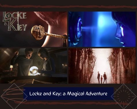Bode, Tyler and Kinsey Locke discovering the keys that will change their lives forever.