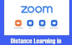 Distance learning has caused popularity among virtual learning applications to soar. Zoom is one of these apps, which connects students and teachers through video chats.