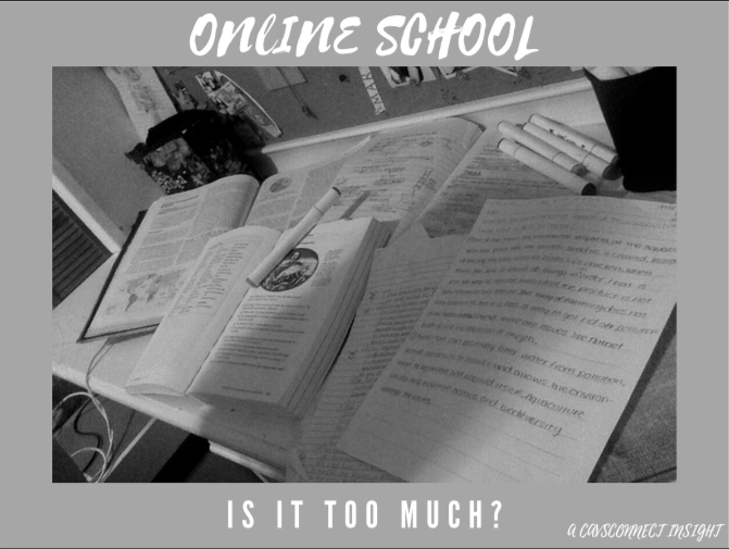 Online school is now in session for all of the Miami Dade County Students but is it too much?