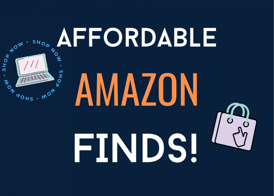 Amazon is stocked with many items from clothing to outdoor furniture to room decor.