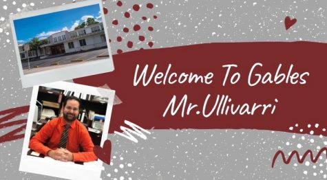 Coral Gables Senior High Welcomes New Principal, Mr. Tony Ullivarri