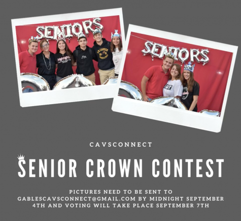 Class of 2021 Senior Crown Contest