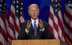 Joe Biden delivering his acceptance speech on day 4 of the 2020 Democratic National Convention.