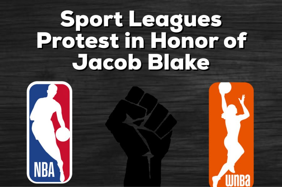 Multiple noteworthy players from professional sport leagues across the country protested following the killing of Jacob Blake which forced multiple leagues to postpone their games.