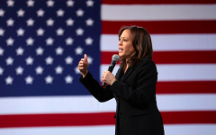 Kamala spoke at the Democratic National Convention to accept her nomination.