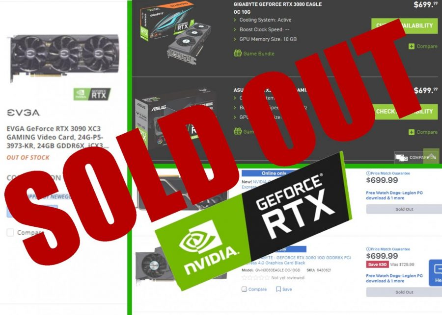 Bots may be responsible for the quick unavailability of the Nvidia RTX 3080  after its launch.
