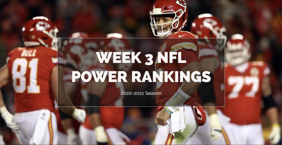 Week 3 NFL Power Rankings