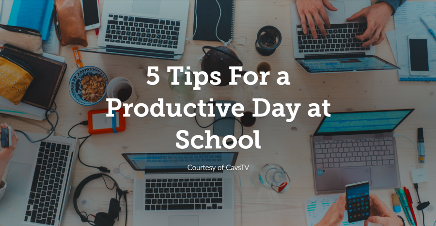 5 Tips For a Productive School Day
