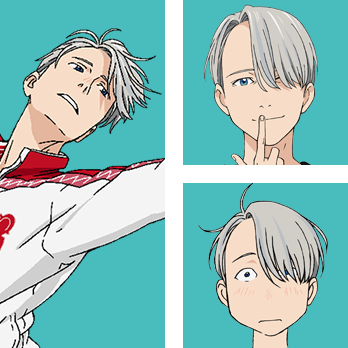 Victor Nikiforv is one of the main characters  from the anime Yuri!!! on Ice.
