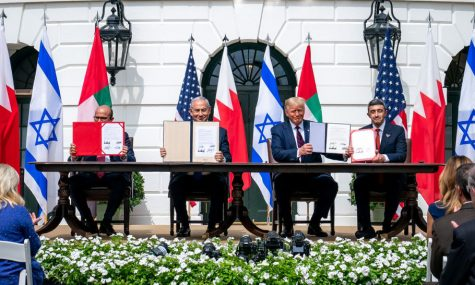 World leaders from Israel, the United Arab Emirates, the United States and Bahrain came together and signed the Abraham Accords.
