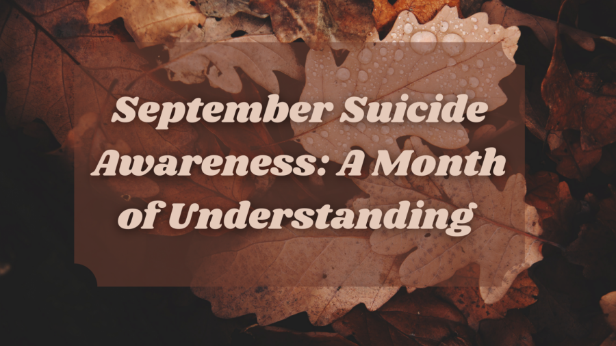 September is a month to raise awareness about suicide and to help others who have gone through it.