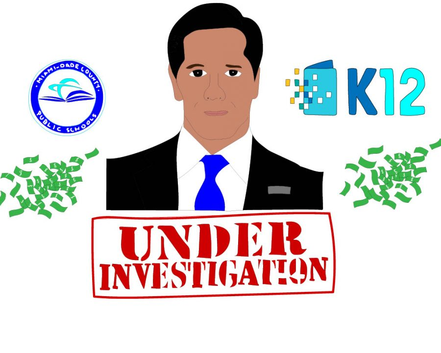 Miami-Dade superintendent Alberto Carvalho is currently under investigation for a donation agreement between K-12 and MDCPS. Gregoire Winston/highlights
