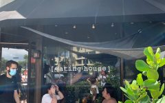 Eating House's entrance and terrace. Penelope Acevedo/highlights