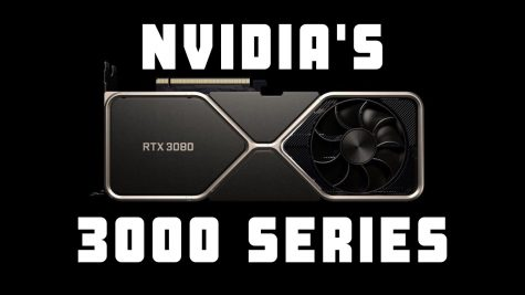 NVIDIA's new RTX 3080 graphics card, part of the new 3000 series launched September 17th.