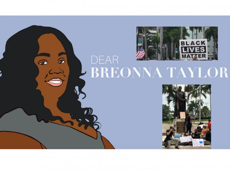 This past Saturday, a peaceful protest was held in Downtown Miami, to stand in solidarity with Breonna Taylor and her family as the police officers involved in her murder have not been charged for it.