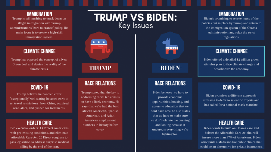 Trump VS Biden: Key Issues