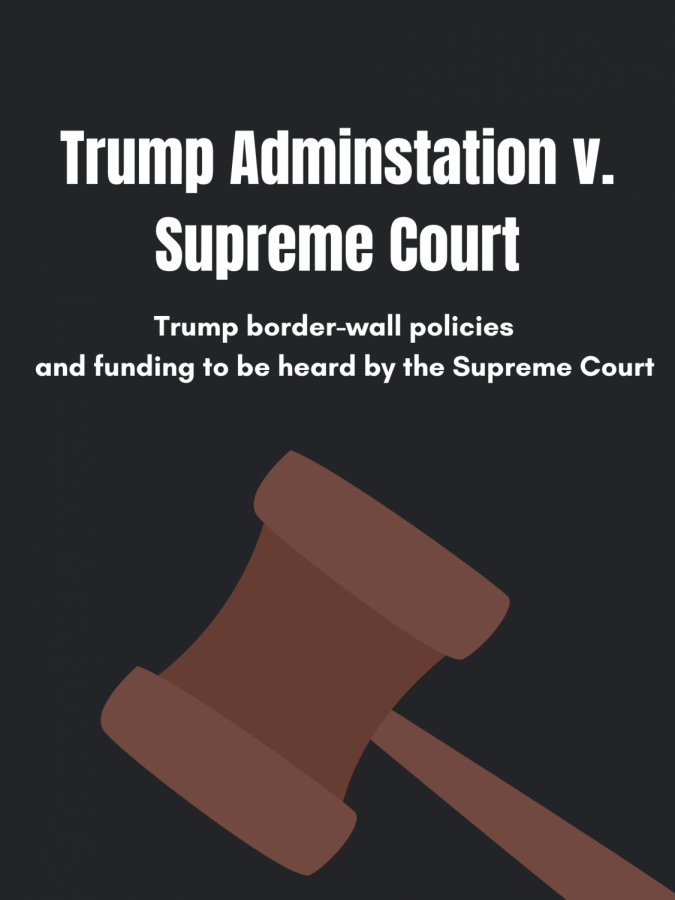 The Supreme Court is set to hear two of Trump's immigration cases that will decide whether for not there will be funding for the construction of wall, and if migrants seeking asylum need to remain in their home country until they face trial.
