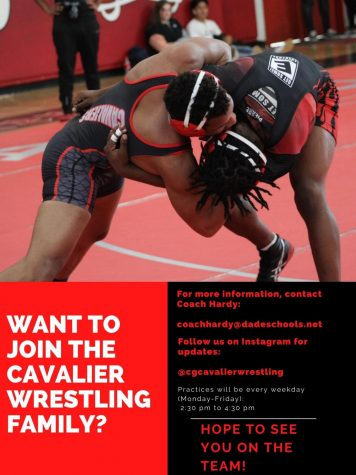 Want To Join The Cavalier Wrestling Family?