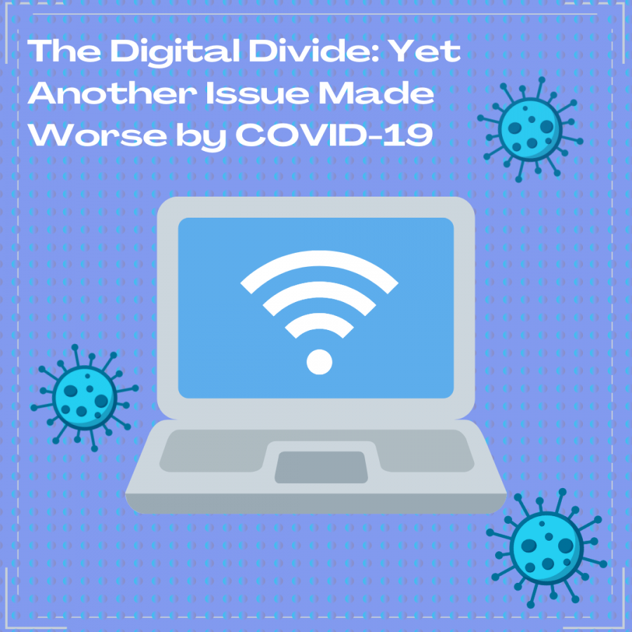With the onset of COVID-19, school, like many other parts of daily life has been moved to a virtual setting. However, lack of high-speed internet and adequate devices has left many students struggling.