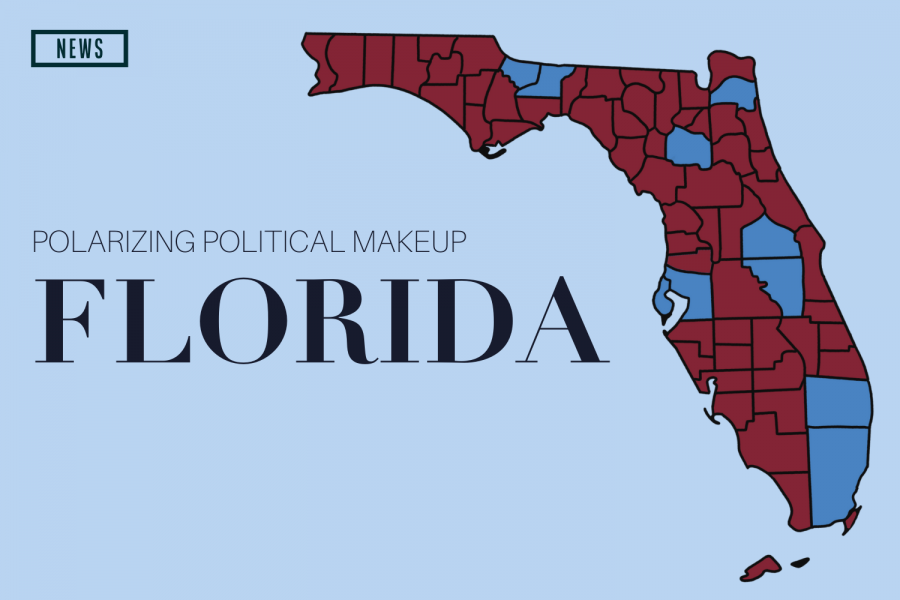 Florida's contrasts highlight the variation of political opinions that differ throughout different areas of the state.