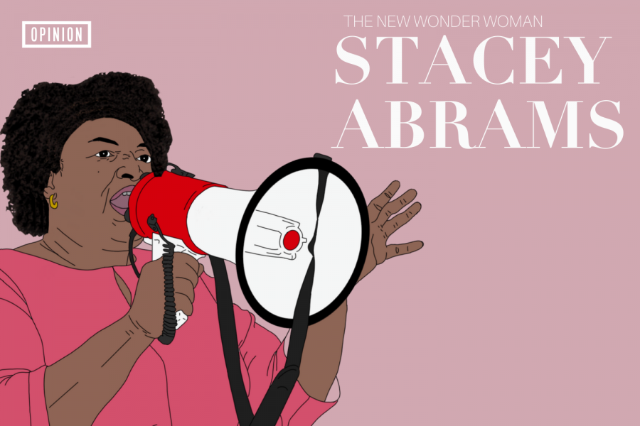 Stacey+Abrams+helped+change+the+outcome+of+this+election+and+showed+the+American+people+that+we+can+overcome+obstacles+and+make+a+change.